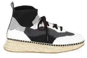 Alexander Wang Dakota Sporty Knit Espadrille