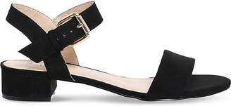 Office Morgan faux-suede block heel sandals