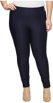 Calvin Klein Plus Plus Size Straight Leg Compression Pants Women's Casual Pants