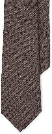 Ralph Lauren Purple LabelRalph Lauren Purple Label Woven Cotton-Cashmere-Silk Tie
