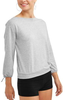 Dance 2LIV Women's Long Tie Sleeve Ballet Sweatshirt