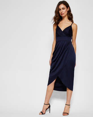 Ted Baker ELYANA Ruched midi dress
