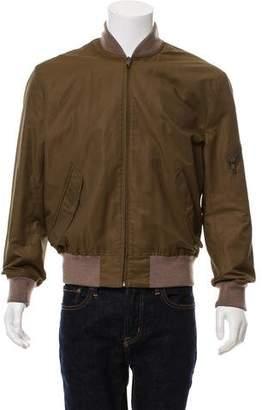 Marc Jacobs Woven Zip-Up Jacket