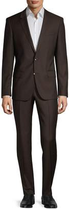 HUGO Notch Lapel Wool Suit