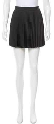 Theory Wool Mini Skirt