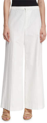 Isabel Marant Wide-Leg Cotton/Linen Pants