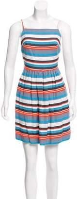 Paul & Joe Sister Striped Mini Dress