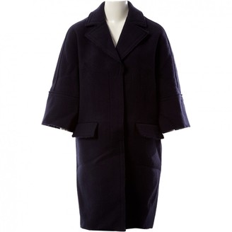 Marni Blue Wool Coats