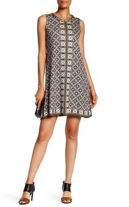 Max Studio Printed A-Line Dress