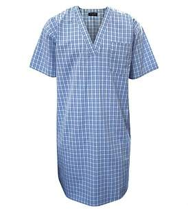 Contare Yarn Dyed Short Sleeve Nightshirt