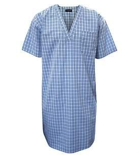 Contare Yarn Dyed Short Sleeve Nightshirt