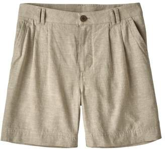 "Patagonia Women's Island Hemp Shorts - 6"""