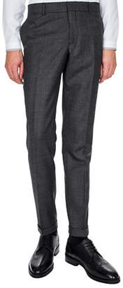 The Kooples Wool Tweed Suit Pants