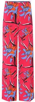 Diane von Furstenberg Printed wide-leg trousers