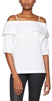 SET Women's Tunika Blouse, White (Bright White 00)