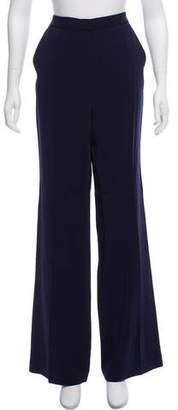 Rebecca Taylor High-Rise Wide-Leg Pants w/ Tags
