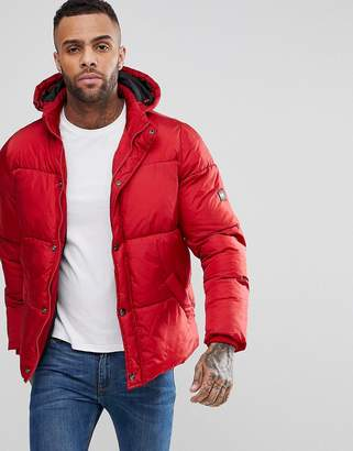 Puffa Padded Hooded Coat