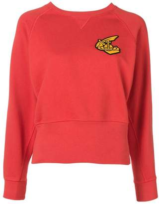 Vivienne Westwood red knit sweater