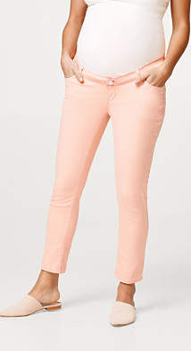 Esprit 7/8 trousers with an over-bump waistband