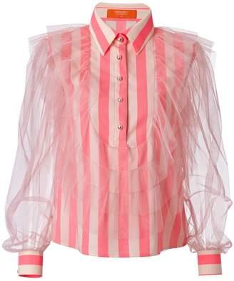 SUPERSWEET x moumi - Hatteras Shirt Neon Stripe