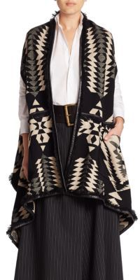 Ralph Lauren Collection Serape Reversible Poncho $3,490 thestylecure.com