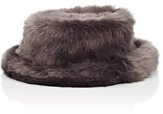 LANDLORD Men's Fur-Faux Bucket Hat - Gray