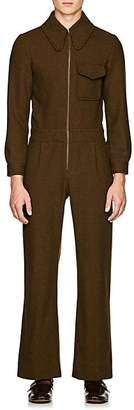 Gucci Men's 5-Pocket Wool Jumpsuit - Olive