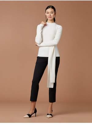 7397245e7dd87 Diane von Furstenberg Devin Wool Wrap Pullover