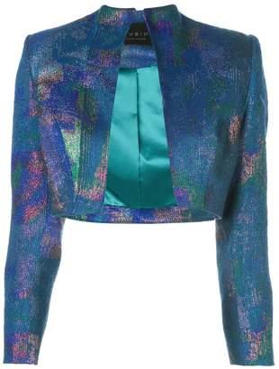 Rubin Singer metallic bolero jacket