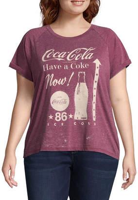 Freeze Coca Cola Tee -Juniors Plus