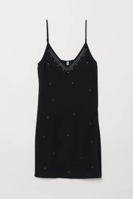 H&M Slip-style Dress - Black