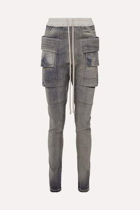Rick Owens Creatch High-rise Tapered Jeans - Anthracite