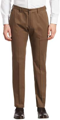 Armani Collezioni Men's Slim Chino Cotton Trousers