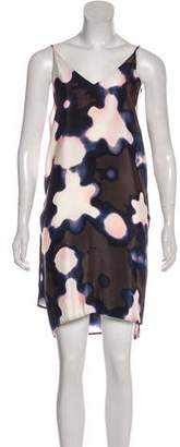 3.1 Phillip Lim Silk Printed Mini Dress