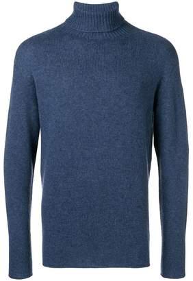 Etro knit roll neck jumper