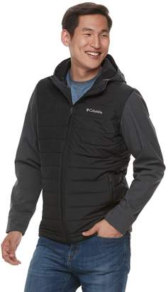 Columbia Men's Oyanta Trail Thermal Coil Colorblock Hooded Hybrid Jacket