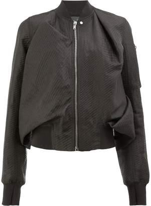 Rick Owens boxy bomber jacket
