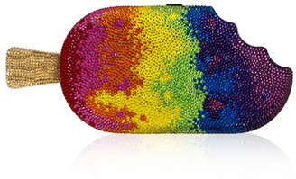Judith Leiber Couture Popsicle Rainbow Clutch Bag