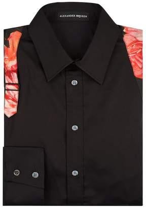 Alexander McQueen Floral Detailed Shirt