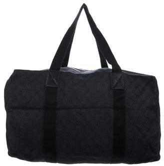 Gucci GG Denim Duffle Bag
