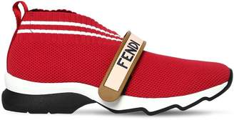 Fendi 30mm Logo Strap Neoprene Sneakers