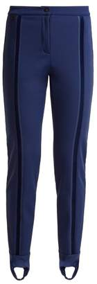 Fendi Stirrup Ski Trousers - Womens - Navy 228a2a762