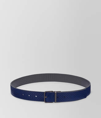 Bottega Veneta REVERSIBLE BELT IN MICRO-INTRECCIATO EMBOSSED