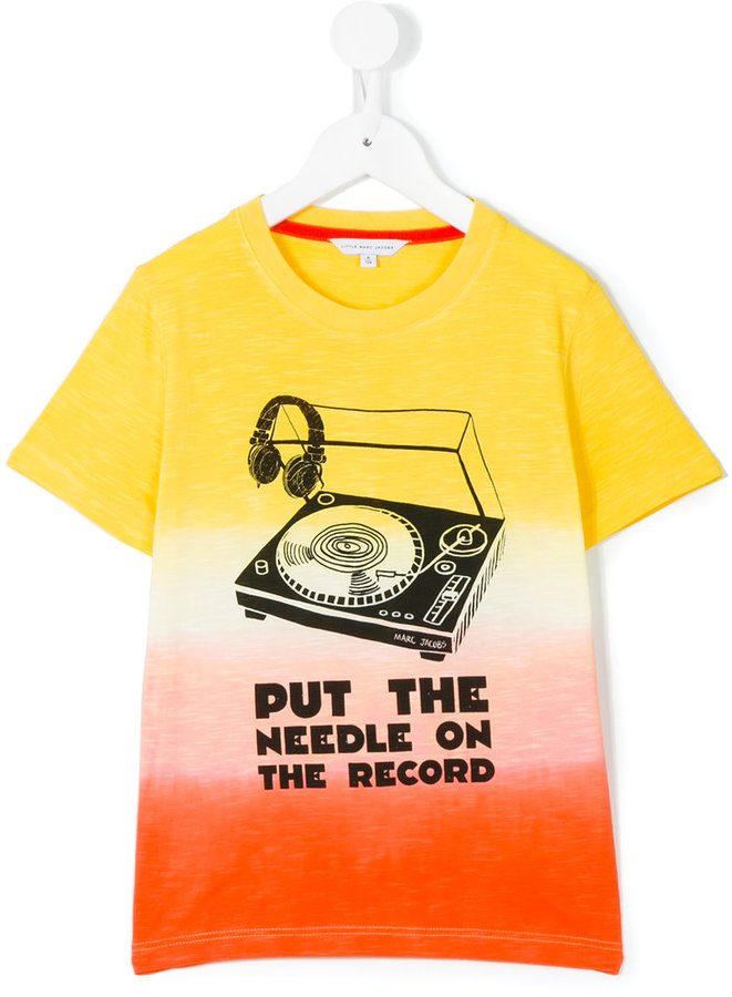 Little Marc JacobsLittle Marc Jacobs put the needle on the record T-shirt