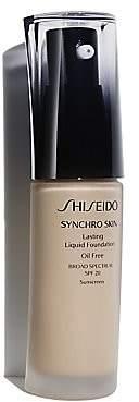 Shiseido Women's Synchro Skin Glow Luminizing Fluid Foundation Broad Spectrum SPF 20