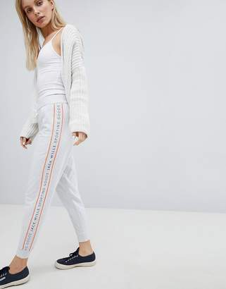 Jack Wills Tracksuit Pant with Piping Detail