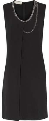 Stella McCartney Marisa Embellished Crepe Dress
