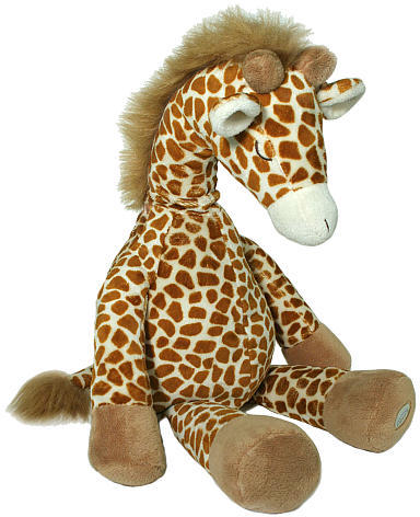 Cloud b Gentle Giraffe Plush Sound Machine with Four Soothing Sounds