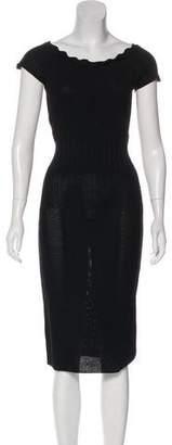 Chanel Knit Midi Dress