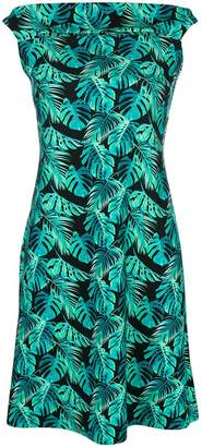 Chiara Boni fern print dress